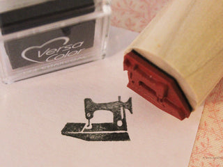 Load image into Gallery viewer, Rubber Stamp, Singer Featherweight 221