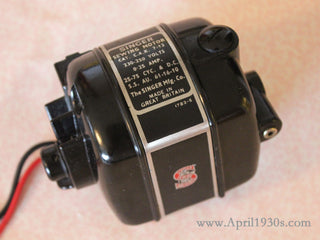 Load image into Gallery viewer, Motor, Singer Featherweight (Vintage Original)