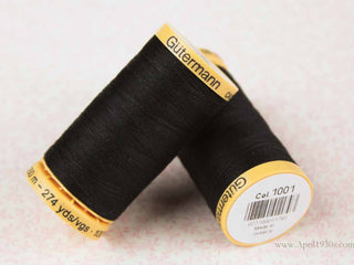 Load image into Gallery viewer, Gutermann Thread 30wt Cotton - 250 Meter Spool