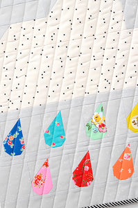 Pattern, Rainy Days MINI Quilt by Ellis & Higgs (digital download)