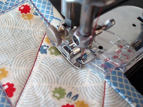 Singer Featherweight 40 Quilt Binding Foot The Singer Custom How To Sew Binding On A Quilt With A Machine