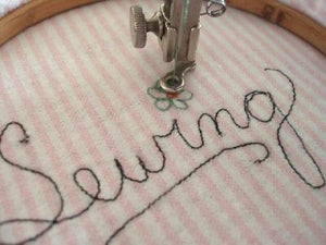 Embroidery Hoop, Machine Free-Motion Work