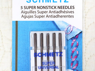 Load image into Gallery viewer, Schmetz Sewing Needles SUPER NONSTICK Universal, 5pk