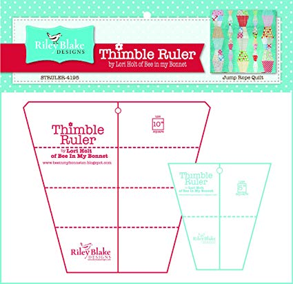 Lori Holt of Bee in My Bonnet Thimble Ruler Set