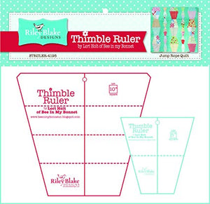 Cutting Ruler SET, Thimble by Lori Holt