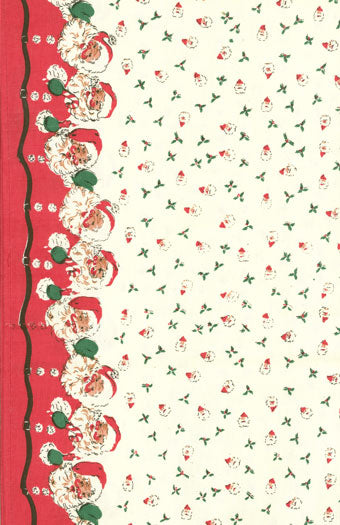 Fabric, 16-Inch Toweling by MODA - SANTA (by the yard)