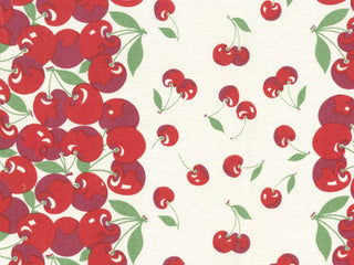 Load image into Gallery viewer, Fabric, 16-Inch Toweling by MODA - VERY CHERRY (by the yard)