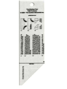 Cutting Ruler, The Binding Tool Template Ruler