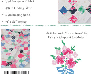 "Load image into Gallery viewer, PATTERN, ""At The Cottage"" Quilt by Kristyne Czepuryk Pretty by Hand"