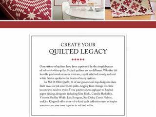 Load image into Gallery viewer, PATTERN BOOK, Red & White Quilts From Martingale