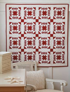 PATTERN BOOK, Red & White Quilts From Martingale