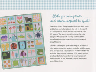 Load image into Gallery viewer, PATTERN BOOK , Patchwork Picnic by Gracey Larson