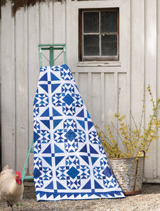 PATTERN BOOK, Blue & White Quilts From Martingale
