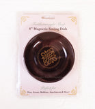 Magnetic Dish for Pins & Maintenance, BLACK & GOLD Featherweight Style