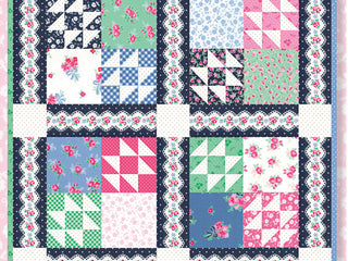 "Load image into Gallery viewer, PATTERN, ""Board Games Mini"" Quilt by Kristyne Ezepuryk Pretty by Hand"