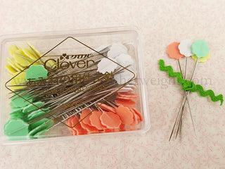 Load image into Gallery viewer, Flower Head Pins, Multi-Colored PASTELS 100 Count