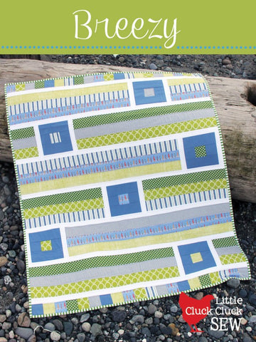"PATTERN, ""Breezy"" Baby Quilt by Little Cluck Cluck Sew"