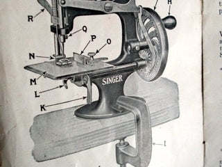 Load image into Gallery viewer, C-Clamp, Singer  (Vintage Original)