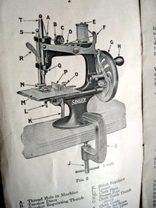 C-Clamp, Singer  (Vintage Original)