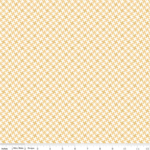 Fabric, Farm Girl Vintage by Lori Holt HOUNDSTOOTH HONEY (by the yard)