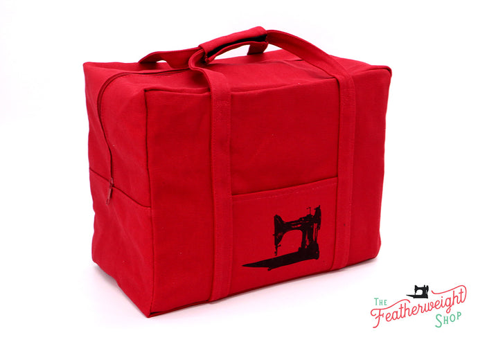 BAG, Tote for Featherweight Case or Tools & Accessories - RED