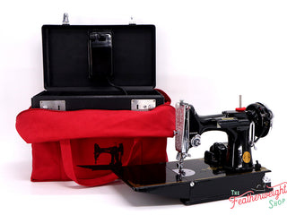 Load image into Gallery viewer, BAG, Tote for Featherweight Case or Tools & Accessories - RED