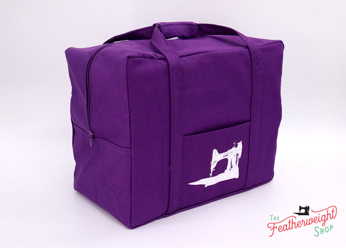 BAG, Tote for Featherweight Case or Tools & Accessories - PURPLE