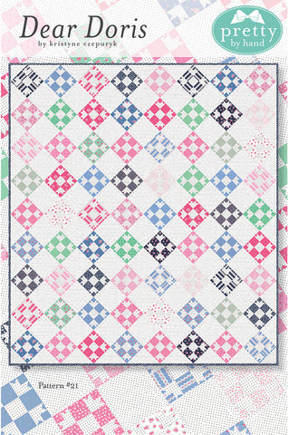 "PATTERN, ""Dear Doris"" Quilt by Kristyn Czepuryk Pretty by Hand"