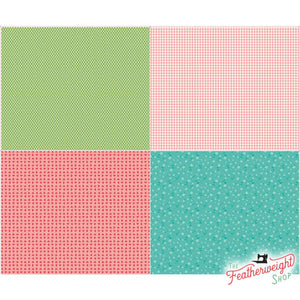 Fabric, Vintage Happy 2 by Lori Holt of Bee in My Bonnet - FAT QUARTER PANEL ONE