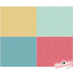 Fabric, Vintage Happy 2 by Lori Holt of Bee in My Bonnet - FAT QUARTER PANEL TWO