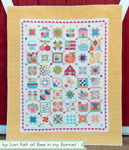 Quilt Kit, FARM GIRL VINTAGE Fabric Collection - by Lori Holt for Riley Blake