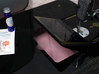 Load image into Gallery viewer, Sew Steady BLACK CLASSIC Singer Featherweight (Table Extension Only + Polish)
