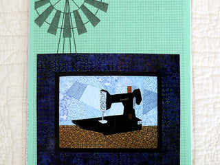 Load image into Gallery viewer, PATTERN, Featherweight Pieces Quilt Wall-Hanging (Paper Pieced)