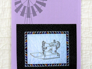 Load image into Gallery viewer, PATTERN, Featherweight Stitches Embroidery + Quilt Block