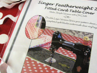 Load image into Gallery viewer, Pattern, Featherweight Table Cover (digital download)