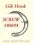 SCREW, Gib Hook (R)