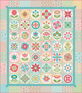 "Cutting Ruler SET, Square TRIM-IT, BLUE 2.5"", 3.5"", 4.5"", 5.5"" & 6.5"" by Lori Holt Cute Cuts (with self-grips)"