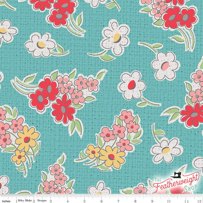 Fabric, My Happy Place by Lori Holt for Riley Blake Designs - HOME DECOR FLORAL COTTAGE  (by the yard)