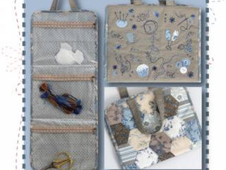 "Load image into Gallery viewer, PATTERN , Stitching Camp by Helen Stubbings for Hugs ""n Kisses"