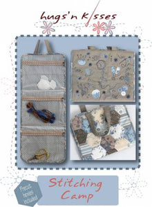"PATTERN , Stitching Camp by Helen Stubbings for Hugs ""n Kisses"