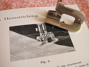 Hemstitching Veining Attachment, Singer (Vintage Original)