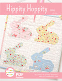 Pattern, Hippity Hoppity MINI Quilt (digital download)