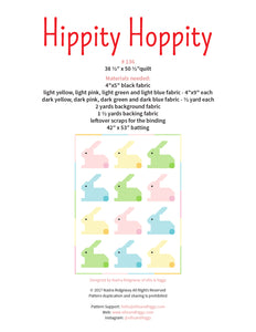 Pattern, Hippity Hoppity Baby Quilt by Ellis & Higgs (digital download)