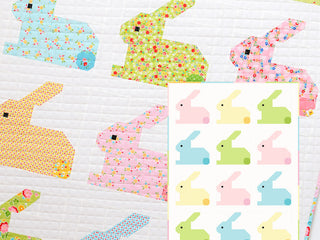 Load image into Gallery viewer, Pattern, Hippity Hoppity Baby Quilt by Ellis & Higgs (digital download)