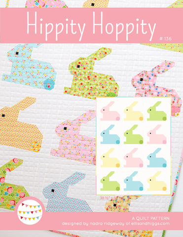 Pattern, Hippity Hoppity Baby Quilt (digital download)
