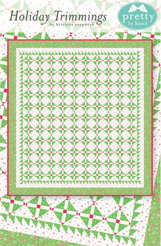 "PATTERN, ""Holiday Trimmings"" Quilt by Kristyne Czepuryk Pretty by Hand"