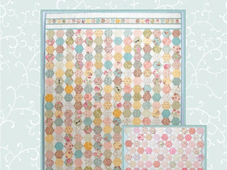 "Load image into Gallery viewer, PATTERN, ""Honey Bee"" Quilt by Kristyne Czepuryk Pretty by Hand"