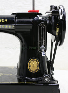 Singer Featherweight 221K Sewing Machine, EH135***