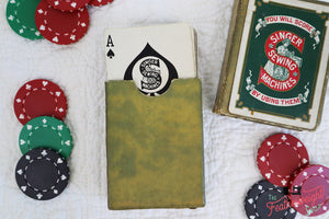 Playing Cards - RARE Singer (Vintage Original)