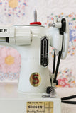 Singer Featherweight 221 Sewing Machine, WHITE FA205***